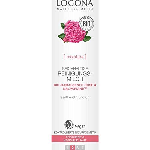 Logona Bio reichhaltige Reinigungsmilch (2 x 125 ml)