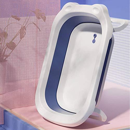 N-B Bañera Plegable para bebés de 0 a 6 años Los niños se sientan y se acuestan en la bañera Grande Lavabo de natación para bebés Bañera para niños Lavabo de Ducha para recién Nacidos