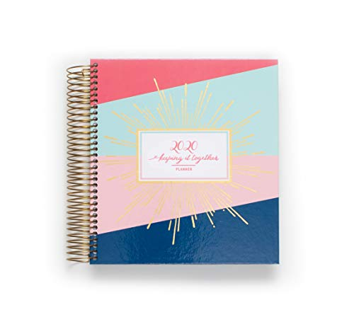 2020 KIT Luxe Daily Planner | Chic Women's Organiser with Monthly Calendar – Spiral Bound Hardcover Appointment Book – Schedule Your Business Day – Agenda with Premium Paper, Multi-Color