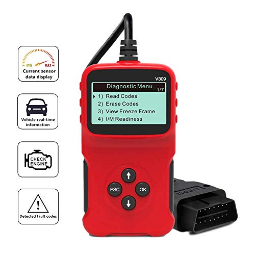 Edasion Car OBD2 Scanner Universal Auto Engine Fault Code Reader CAN...