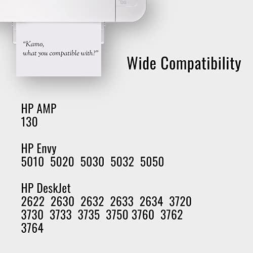 Kamo 304 XL Cartuchos Compatible con el HP 304 304XL Cartuchos de Tinta Multipack, para AMP 130, Deskjet 2622 2630 2632 2633 2634 3720 3730 3733 3735 3750 3760 3762 3764, Envy 5010 5020 5030 5032 5050
