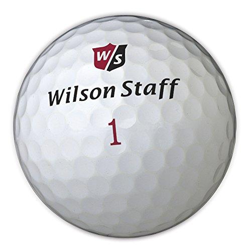 Wilson Staff, Weltweit weichster 2-teiliger Herren Golfball für maximale Reichweite, 12er-Pack, Fortgeschrittene, 29er Kompression, Kautschuk, Dx2 Soft, Weiß, WGWP37100
