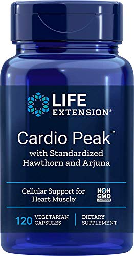 Life Extension Cardio Spitze mit Standardisierte Hawthorn und Arjuna - 120 vcaps