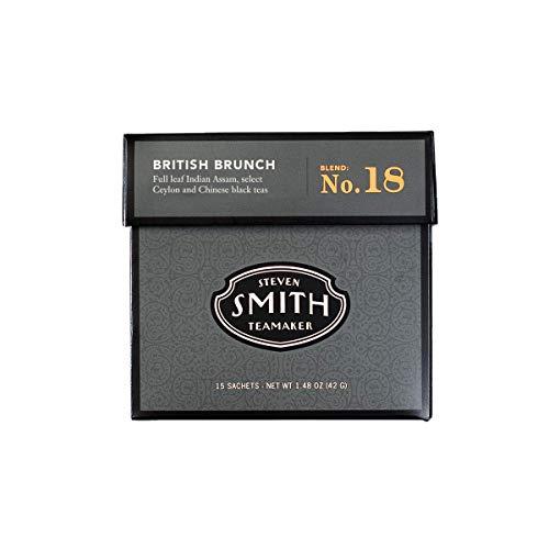 SMITH TEAMAKER(スミス・ティーメーカー)NO.18 ブリティッシュ ブランチ【イングリッシュブレックファーストティー】個包装ティーバッグ15包入り