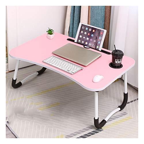 Groot laptopnachtkastje met inklapbare poten, tafelblad voor ontbijt, leesstandaard voor bank, speeltafel voor kinderen