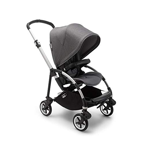Bugaboo Bee 6 Stroller - Lightweight, Compact and Easy to Fold Stroller for Travel and City Life. Easy to Steer. The Most Popular Lightweight Stroller - Grey Mélange