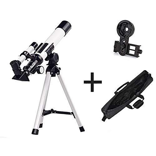 FZTX-LPX Telescopio astronómico de Alta definición 10000 Veces Espejo de refracción, Filtro de Luna, Espejo cenital Positivo de 90 ° para observación de Aves, observación de Estrellas, etc.