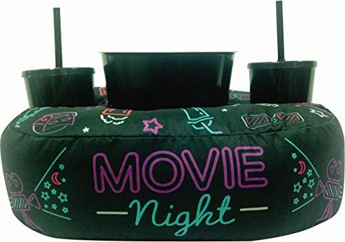 Kit Almofada Com Porta Pipoca 1 Balde + 2 Copos Movie Night APP3017