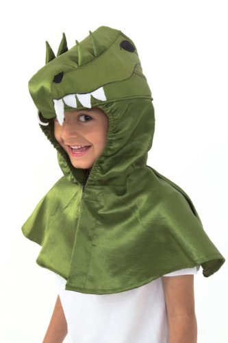 Krokodil Kostüm für Kinder 3-8 Jahre alt - Alligator Kostüm Kinder - Slimy Toad