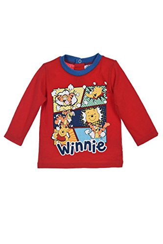 Disney TS Manches Longues Winnie L Ourson Rouge 12 Mois