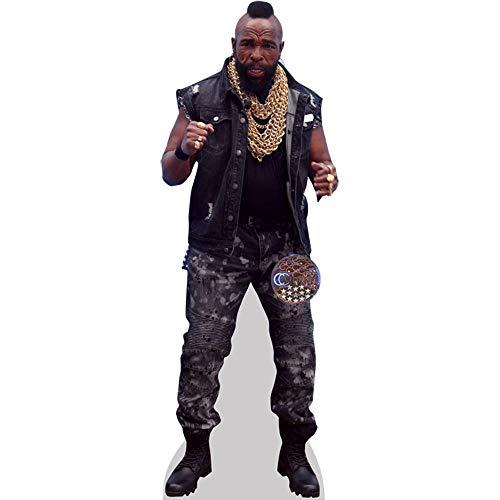 Celebrity Cutouts Mr T (Chains) Pappaufsteller lebensgross