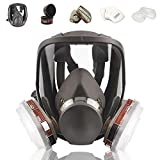 Best Gas Masks - Full Face Respirаtor Reusable, Gas Cover Organic Vapor Review