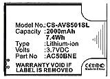 Akkuversum Akku kompatibel mit Archos 50B Neon, Handy/Smartphone Li-Ion Batterie