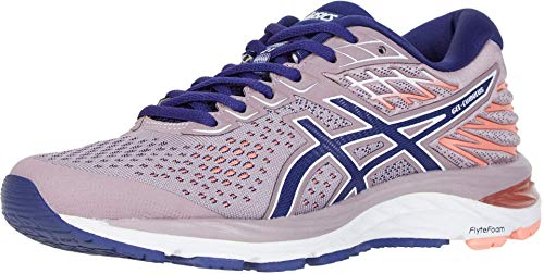 ASICS Women's Gel-Cumulus 21 Running Shoes, 8.5M, Violet Blush/Dive Blue