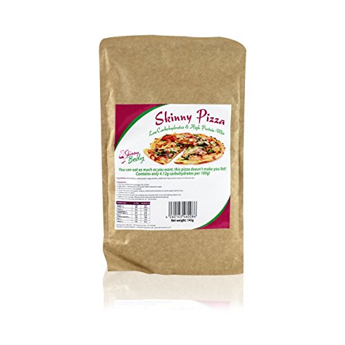 Skinny Body Low Carb Pizza - Ready Mixture 150 g, High Protein, Low Fat, Gluten Free