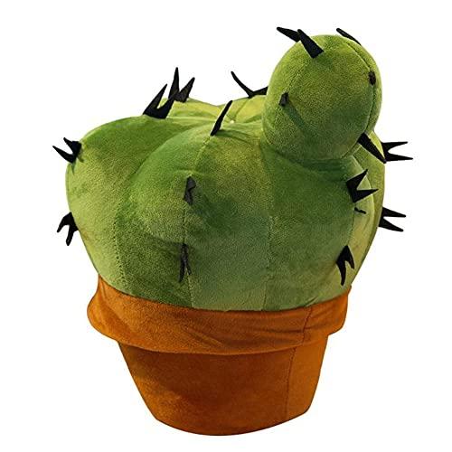 Almohada Suave de Cactus, Almohada de Cactus de Felpa, cojín para sofá, decoración del hogar, Almohada de Regalo Hermosa, Felpa de Cactus, para decoración del hogar, Hermoso Regalo para niños, Novia
