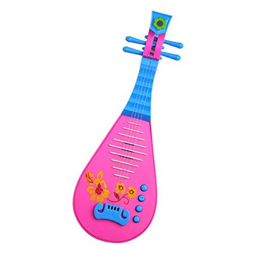 F Fityle Juguete Eléctrico Chino Pipa Laúd Guitarra Juguete para Niños para...