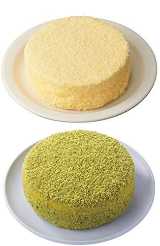 LeTAO ( ルタオ ) チーズケーキ 食べ比べセット (ドゥーブルフロマージュ+宇治抹茶ミルクドゥーブル) 母の日 ケーキ スイーツ