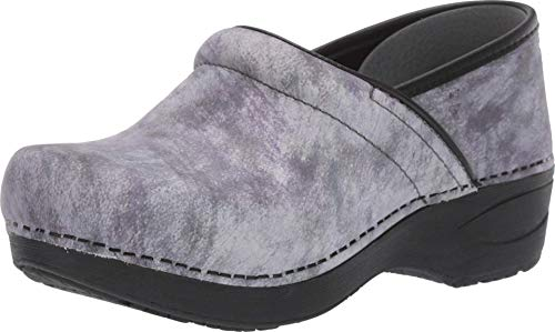 Dansko Women's XP 2.0 Slate Marbled Nubuck Clogs 8.5-9 M US