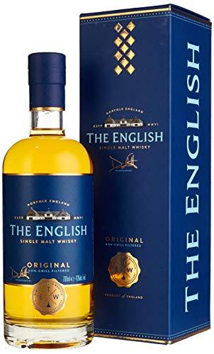 The English Whisky ORIGINAL Single Malt Whisky mit Geschenkverpackung (1 x 0.7 l)
