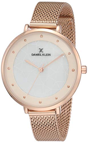 Daniel Klein Analog Grey Dial Women's Watch-DK11540-3