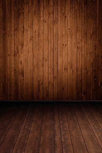 Tabla de Madera Vieja tablones de Piso Textura bebé niño Fiesta muñeca Retrato Foto telón de Fondo Estudio fotográfico A3 10x7ft / 3x2,2 m