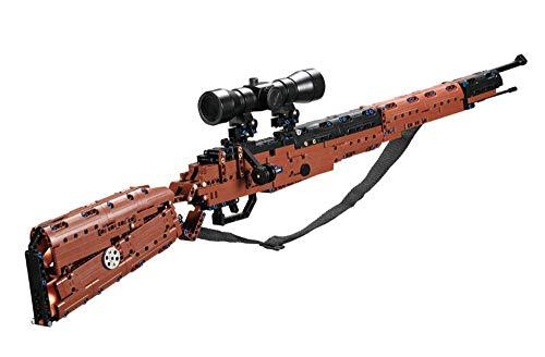 RCWare CADA C61010W Karabiner 98K Gun (653 Teile), Klemmbausteine, Noppensteine