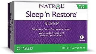 Natrol Sleep N Restore Sleep Support 20 Tablets (Pack of 6)