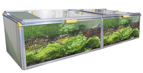 Juwel Beetsystem Bio Protect 2000 (Frühbeet mit Schädlings- und Wetterschutz, 200 x 76,5 x 52 cm) transparent