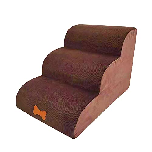 Lary Escalier pour chien - Antidérapant - Confortable - Trois couches - Lavable à la main ou en machine - 60 x 42 x 39 cm