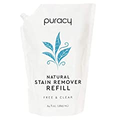 Guaranteed to be the most effective stain remover you've ever used SAFELY REMOVES ANY TYPE OF STAIN: Natural Ingredients, Hypoallergenic, Gluten-Free, Non-Toxic, Non-Bleaching, Biodegradable, Vegan, Certified Cruelty-Free COMPLETELY ELIMINATES grass,...