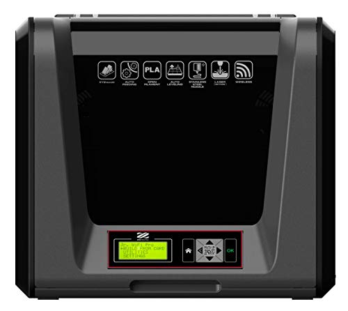 XYZ Printing da Vinci Jr. WiFi Pro 3D printer, Open Filament, with free modelling software and video tutorials, 15x15x15cm Built Vol.