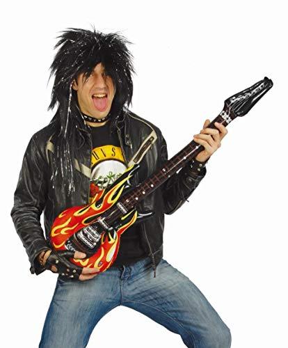Fiestas Guirca Guitare Gonflable Heavy Metal au Hard Rock déguisement