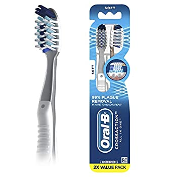 Oral-B Pro-Health All-in-One Manual Toothbrush Soft 2 ct Value Pack