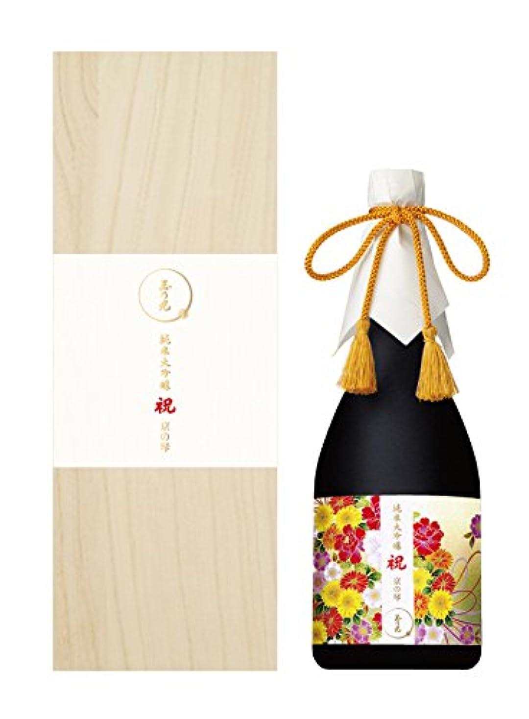 スライム刈り取るスーツ玉乃光酒造 純米大吟醸 祝100% 京の琴 [ 日本酒 720ml ]