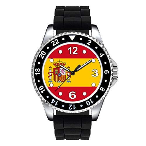Timest - Bandera de España - Reloj Unisex con...