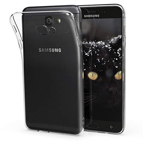 kwmobile Hülle kompatibel mit Samsung Galaxy On7 Prime/On Nxt - Hülle Handy - Handyhülle in Transparent