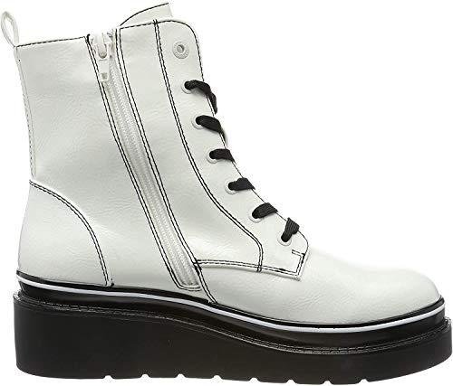 bugatti Damen 431770315700 Stiefeletten, Weiß (Offwhite 2100), 39 EU