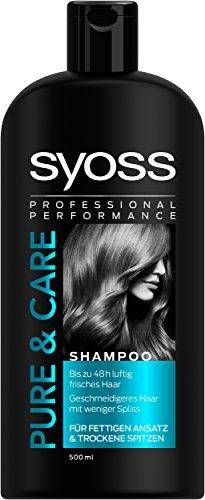 Syoss Shampoo Pure & Care, 3er Pack (3 x 500 ml)