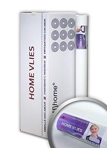 Vliesbehang overschilderbaar 120 g Profhome HomeVlies 399-124 glad onderbehang renovlies voor wand en plafond | 9 rollen 225 m2