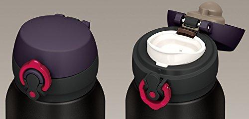 『サーモス 水筒 真空断熱ケータイマグ 【ワンタッチオープンタイプ】 750ml マットブラック JNL-752 MTBK』の2枚目の画像