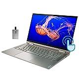 2020 Lenovo Yoga C740 2-in-1 14' FHD Touchscreen Laptop Computer, Intel Core i5-10210U, 8GB RAM, 512GB SSD, Backlit KB, Fingerprint Reader, Intel UHD Graphics, Windows 10, Mica, 32GB SnowBell USB Card