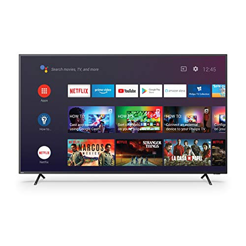 Philips 139 cm 4K UHD LED Android Smart TV