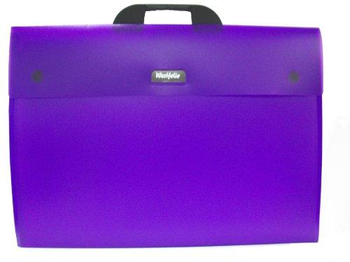 Westfolio DKFAA3PU koffer, polypropyleen, A3, paars