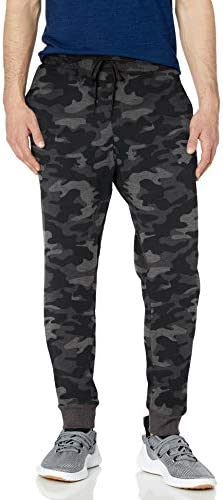 Jockey Men s Active Basic Fleece Jogger Sweatpant Black Camo X Large product image
