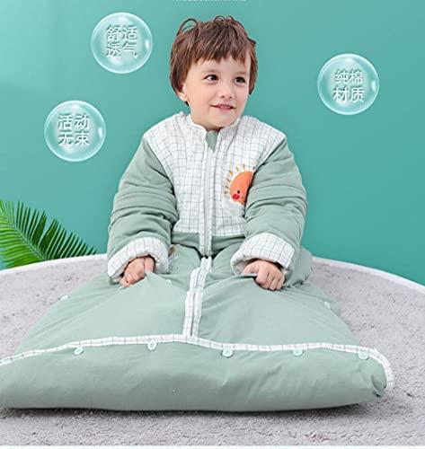 Hushj Hermoso Lindo Saco de Dormir para bebé Estilo de Dibujos Animados Temporizador automático Swaddle a Prueba de Patadas Unisex Manta Envuelta 0-6 años