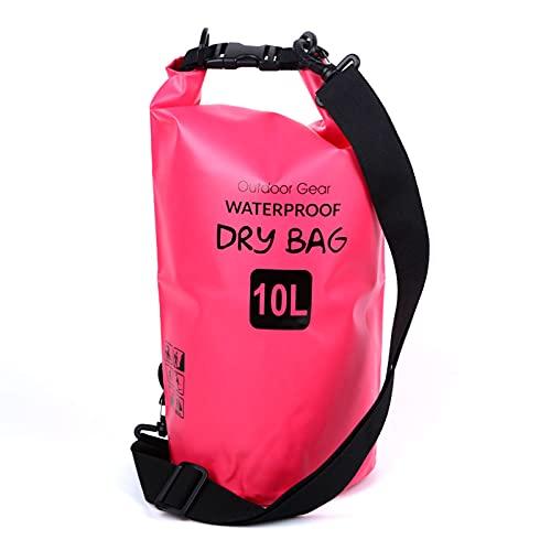 XIHUANNI Bolsas de almacenamiento impermeables al aire libre, mochila doble de PVC, bolsa de almacenamiento impermeable para natación junto al mar