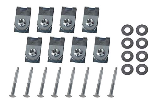 Replacement Bed Mounting Hardware Kit - Compatible with Ford Trucks - F250, F350, F450, F550 Super Duty 1999-2016 - Replaces W706640-S900, XC3Z-9900038-AA, 924-311, 924311, W708770S436