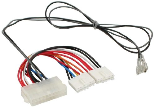 Unbekannt InLine Strom Adapter intern 20pol ATX-NT zu P8/P9 AT-Mainboard+Schalter