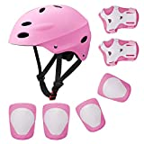 Topfire Kinder Scooter BMX Bike Helm, Hand-Knie, Ellenbogen Pads...
